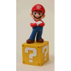 SUPER MARIO PAPERWEIGHT FIGURE WITH BASE - SERIES 1 (15cm) (SMT0101)