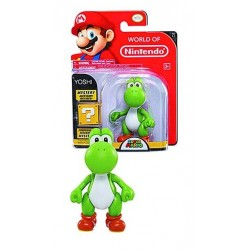 WORLD OF NINTENDO - YOSHI PVC FIGURE SERIES 1-1 (MYSTERY ACCESSORY INCLUDED!) (10CM)