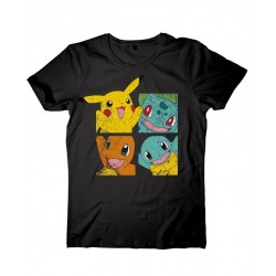POKEMON - PIKACHU & FRIENDS T-SHIRT - SIZE M (TS120302POK-M)