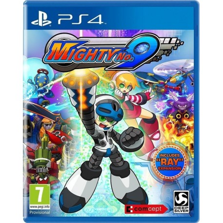 PS4 MIGHTY NO. 9 + RAY EXPANSION (CROSS-BUY: PSVT - PS3) (EU)