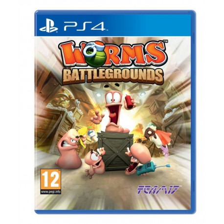 PS4 WORMS BATTLEGROUNDS (EU)