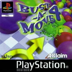 PS1 BUST A MOVE 4 (USED)