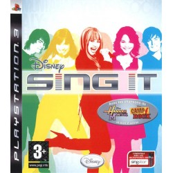 PS3 DISNEY SING IT (NEW)