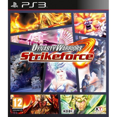PS3 DYNASTY WARRIORS STRIKEFORCE (NEW)