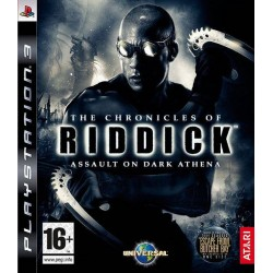 PS3 THE CHRONICLES OF RIDDICK ASSAULT ON DARK ATHENA (NEW)