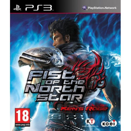PS3 FIST OF THE NORTH STAR KEN'S RAGE (USED)
