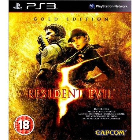 PS3 RESIDENT EVIL 5 GOLD EDITION (USED)