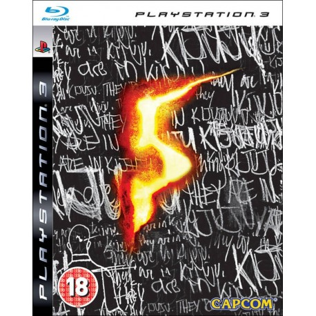 PS3 RESIDENT EVIL 5 STEELBOOK EDITION (USED)