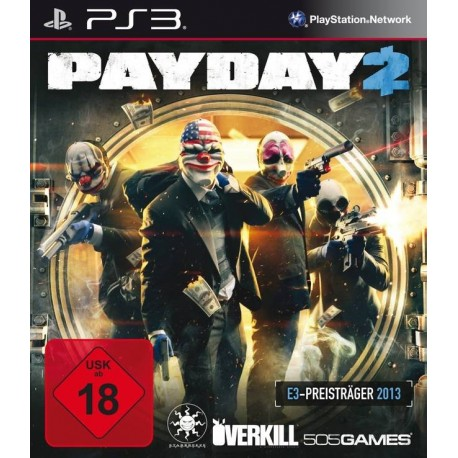 PS3 PAYDAY 2 (USED)