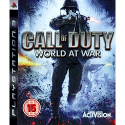 PS3 CALL OF DUTY WORLD AT WAR (USED)