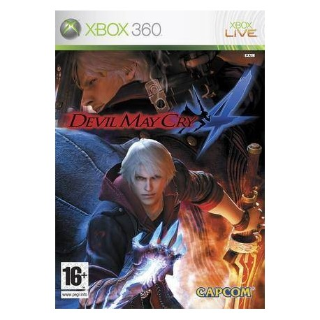 X360 DEVIL MAY CRY 4 (NEW)
