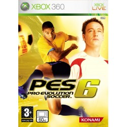 X360 PRO EVOLUTION SOCCER 6 (NEW)