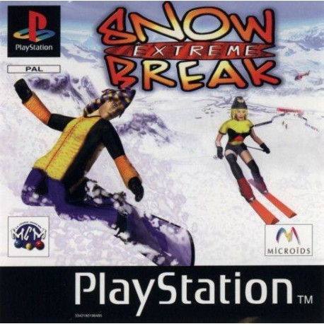 PS1 EXTREME SNOW BREAK (CD ONLY) (USED)