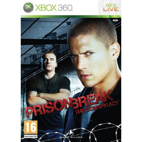 X360 PRISON BREAK THE CONSIRACY (USED)