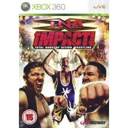 X360 TNA IMPACT TOTAL NONSTOP ACTION WRESTLING (USED)