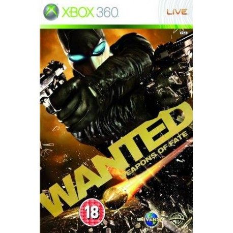 X360 WANTED WEAPONS OF FATE (USED)