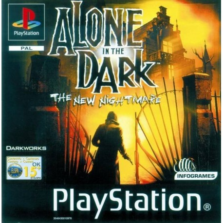 PS1 ALONE IN THE DARK THE NEW NIGHTMARE (USED)