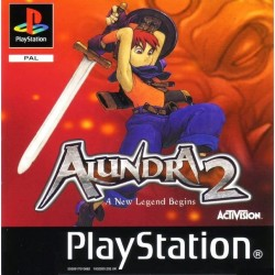 PS1 ALUNDRA 2 A NEW LEGEND BEGINS (USED)