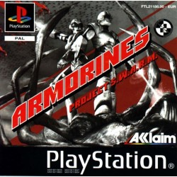 PS1 ARMORINES PROJECT S.W.A.R.M (USED)