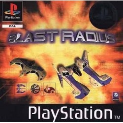 PS1 BLAST RADIUS (no manual) (NO CASE) (USED)