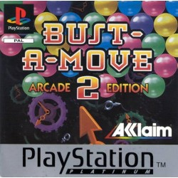 PS1 BUST A MOVE 2 ARCADE EDITION (cd only) (USED)