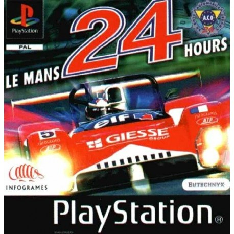 PS1 LE MANS 24 HOURS (USED)