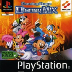 PS1 DANCING STAGE DISNEY MIX (USED)