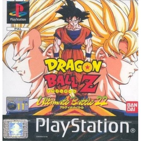 PS1 DRAGON BALL Z ULTIMATE BATTLE 22 (no manual) (USED)