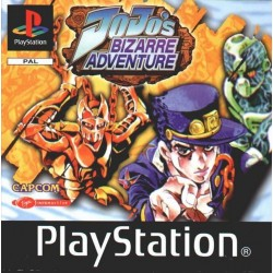 PS1 JOJO'S BIZARRE ADVENTURE (no manual) (USED)