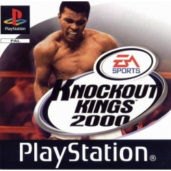 PS1 KNOCK OUT KINGS 2000 (no manual) (NO CASE) (USED)