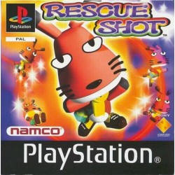 PS1 RESCUE SHOT (no manual) (NO CASE) (USED)