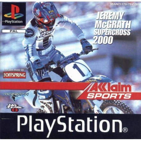 PS1 SUPERCROSS 2000 (no manual) (NO CASE) (USED)