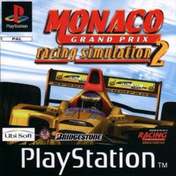 PS1 MONACO GRAND PRIX RACING SIMULATION 2 (no case) (USED)