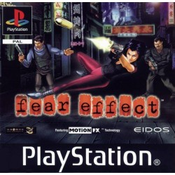 PS1 FEAR EFFECT (NO MANUAL) (USED)
