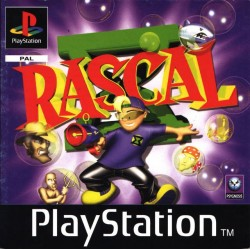 PS1 RASCAL (no manual)(USED)
