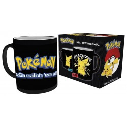 POKEMON - PIKACHU HEAT CHANGING BLACK MUG (MGH0008)