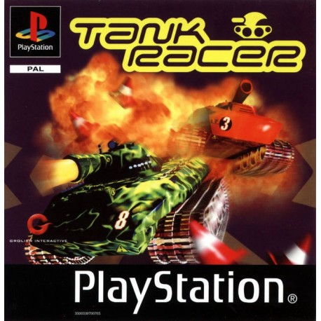 PS1 TANK RACER (CD ONLY) (USED)