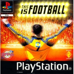 PS1 THIS IS FOOTBALL (NO CASE)(USED)