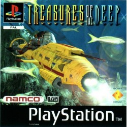 PS1 TREASURES OF THE DEEP (USED)