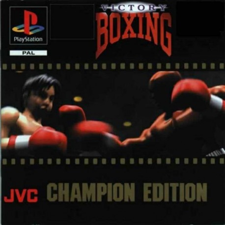 PS1 VICTORY BOXING (cd only) (USED)