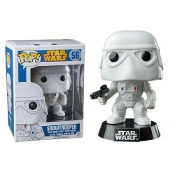POP! STAR WARS - SNOWTROOPER no56 VINYL BOBBLE-HEAD FIGURE (10cm)