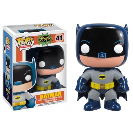 POP! HEROES: BATMAN CLASSIC TV SERIES - BATMAN '66 no41 VINYL FIGURE