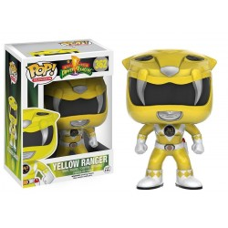 POP! TELEVISION: POWER RANGERS - YELLOW RANGER no362 VINYL FIGURE