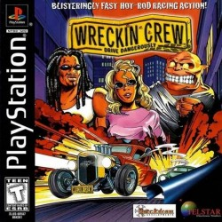 PS1 WRECKIN CREW (no case)(USED)