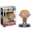 POP! STAR WARS - THE FORCE AWAKENS MAZ KANATA WITH GLASSES no108 VINYL BOBBLE-HEAD FIGURE