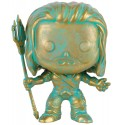 POP! HEROES: BATMAN VS. SUPERMAN - AQUAMAN BRONZED PATINA no87 VINYL FIGURE