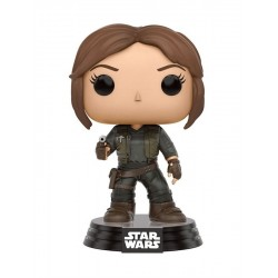 POP! STAR WARS: ROGUE ONE - JYN ERSO no138 BOBBLE-HEAD FIGURE
