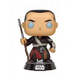 POP! STAR WARS: ROGUE ONE - CHIRRUT IMWE no140 BOBBLE-HEAD FIGURE