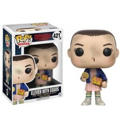 POP! TELEVISION: STRANGER THINGS - ELEVEN WITH EGGOS no427 VINYL FIGURE