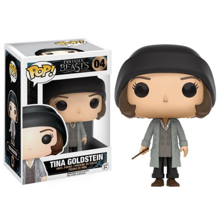 POP! MOVIES: FANTASTIC BEASTS AND WHERE TO FIND THEM - TINA GOLDSTEIN no04 VINYL FIGURE